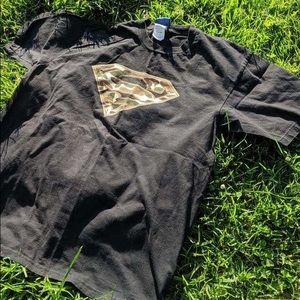 Superman Camo Logo Shirt